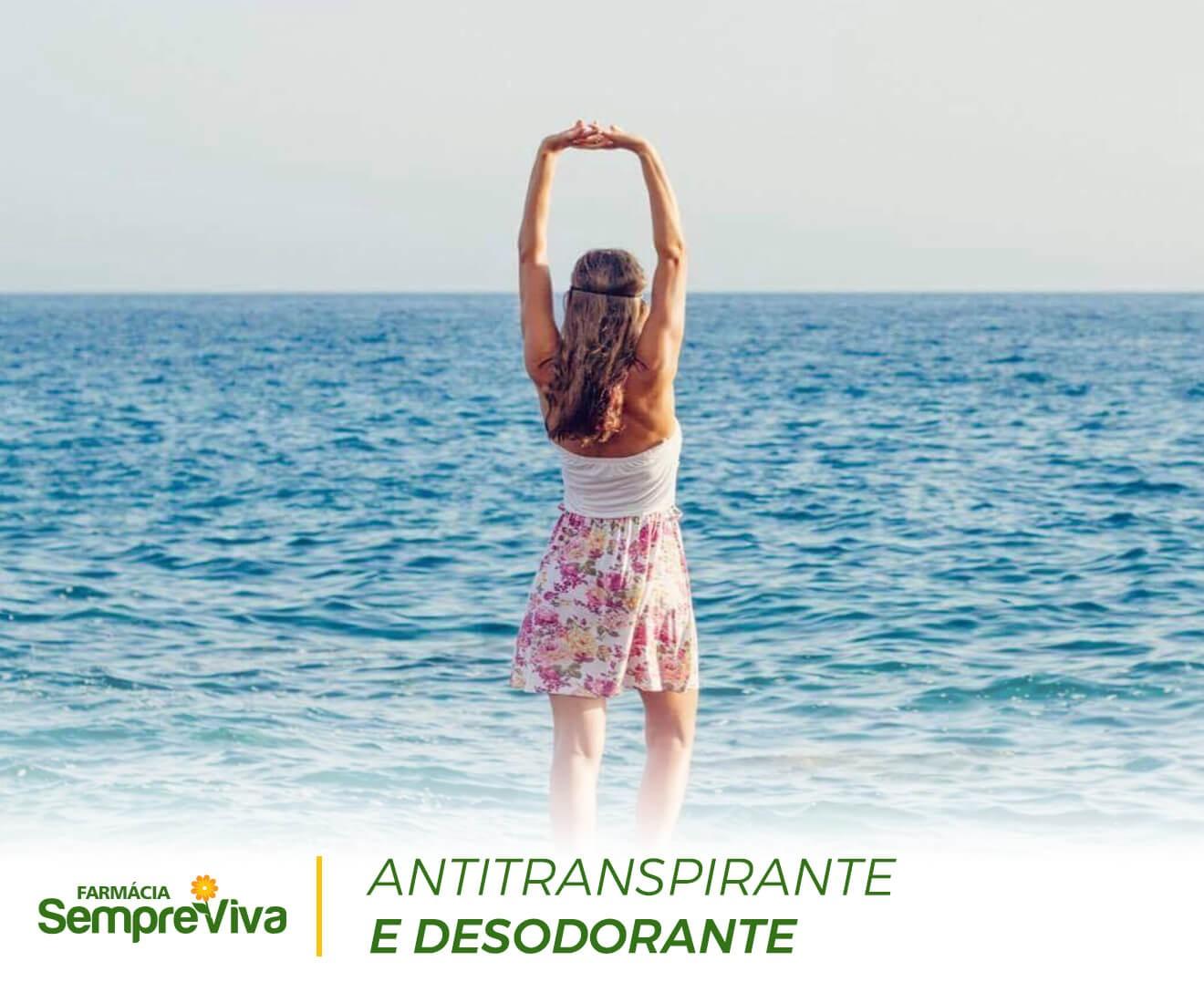 Antitranspirante e Desodorante Não Causa Irritação Hexatrate 15%