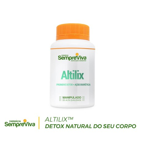 Altilix 100mg Detox natural do seu corpo