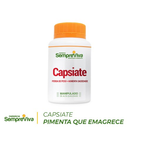 Capsiate 3mg A Pimenta que Emagrece