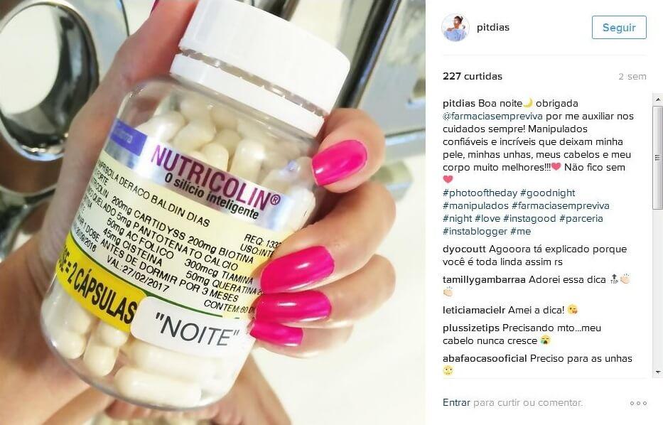 Priscila Dias parceria